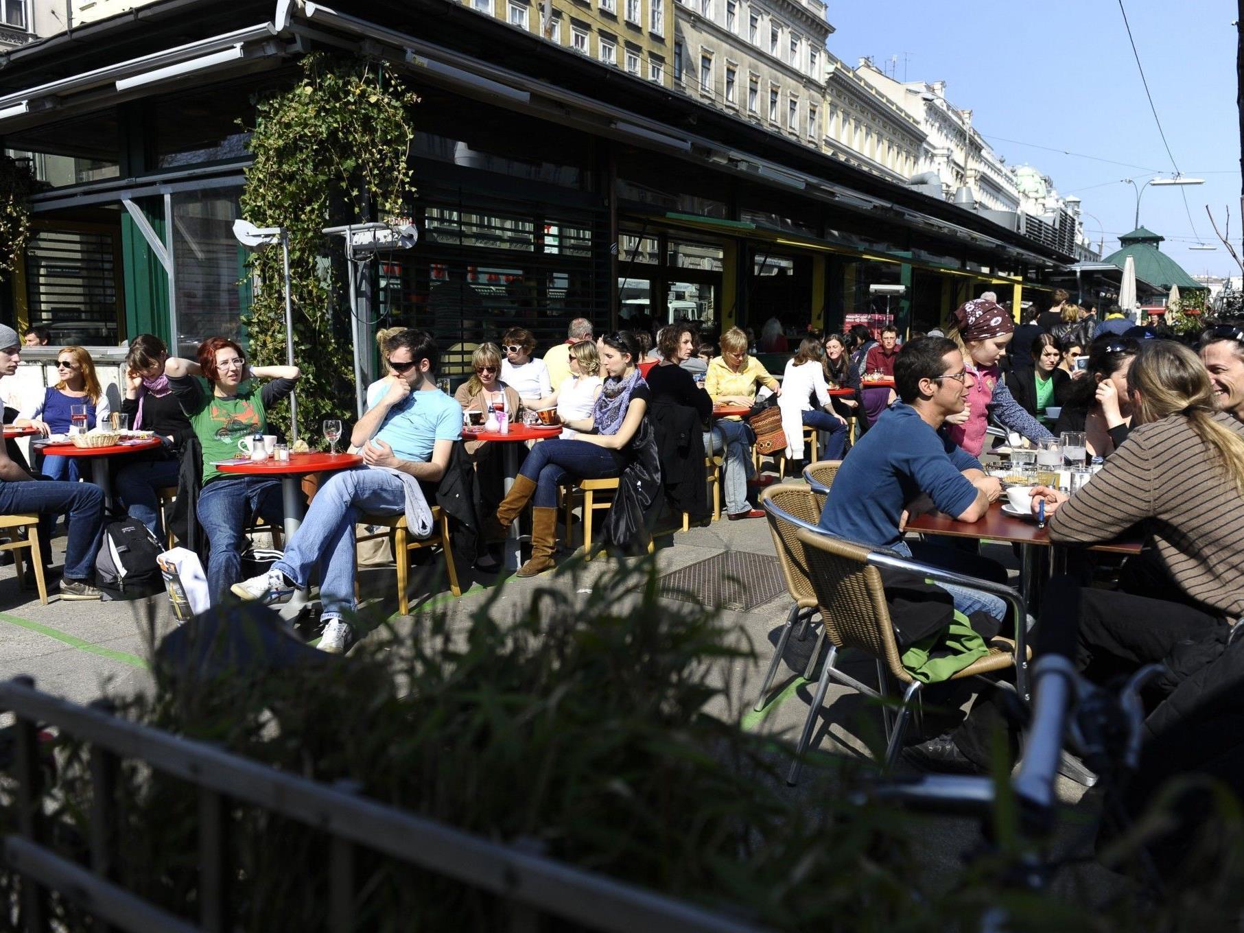 Es gibt viele Orte in Wien um zu Frühstücken: Auch in Hotels