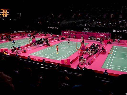 Schauplatz eines Skandals: die Badminton-Courts