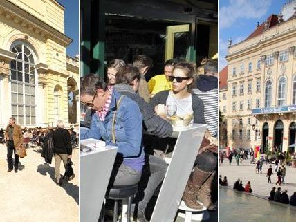 Kunst und Kultur lassen sich in Wien auch mit dem Frühstück und dem Brunch verbinden