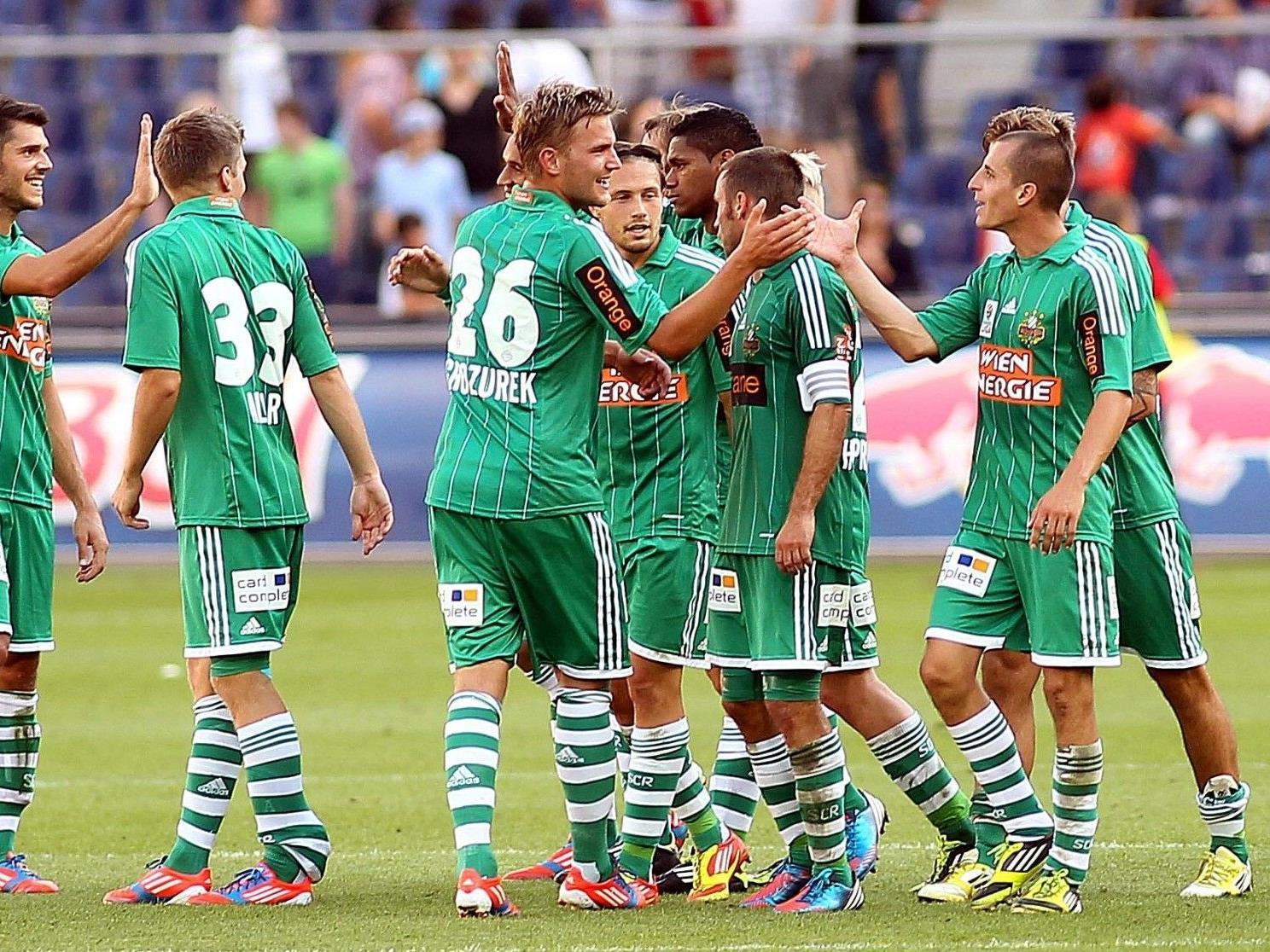 Wir berichten ab 18.30 Uhr live vom Spiel SK Rapid Wien gegen Sturm Graz in unserem Ticker.
