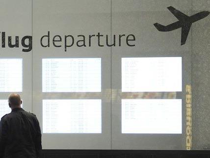 Passagierplus am Flughafen Wien