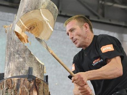 Am Wochenende fanden die Sportholzfällermeisterschaften statt