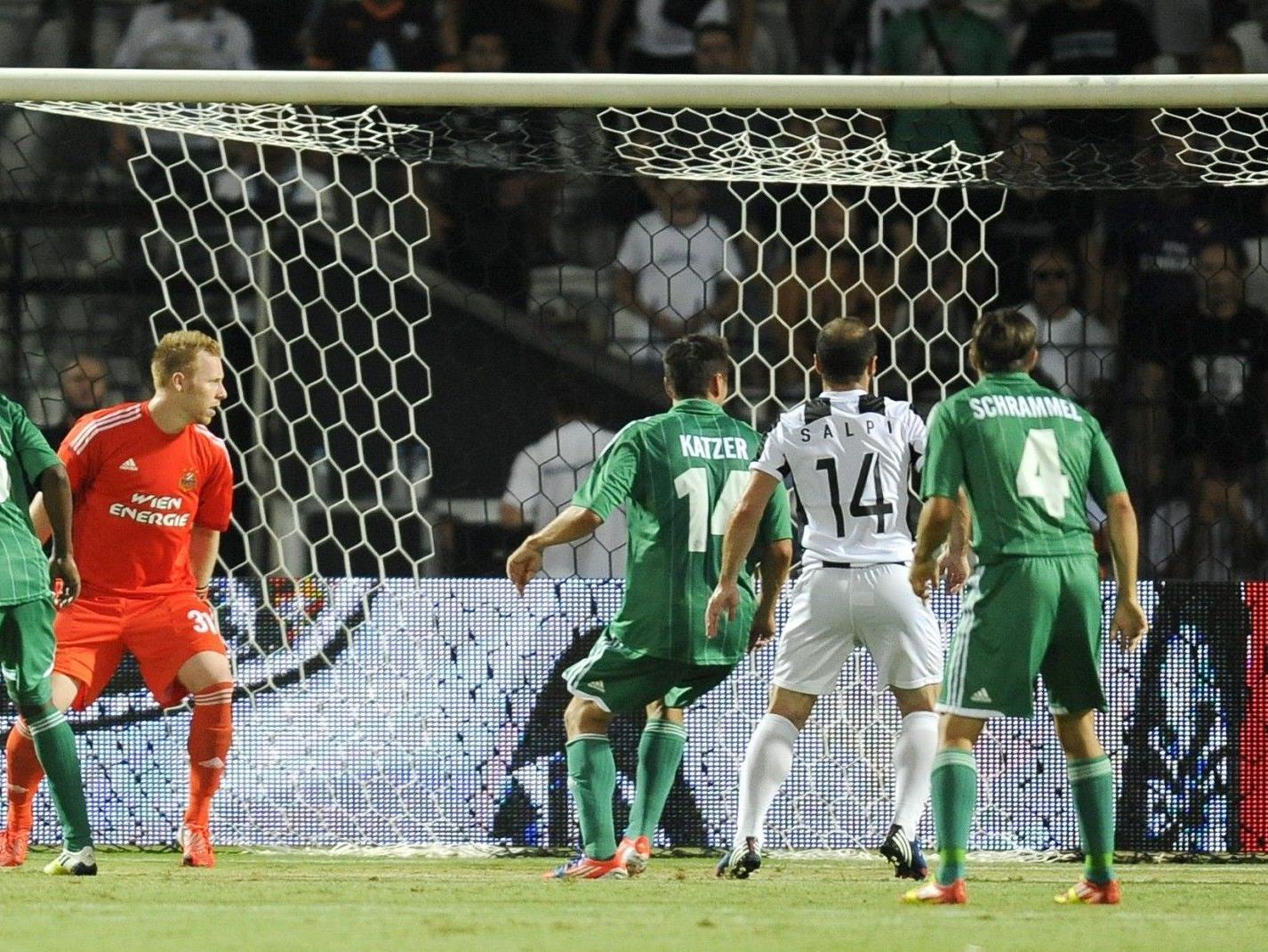 Rapid Wien verlor in der EL-Quali gegen PAOK Saloniki mit 1:2.