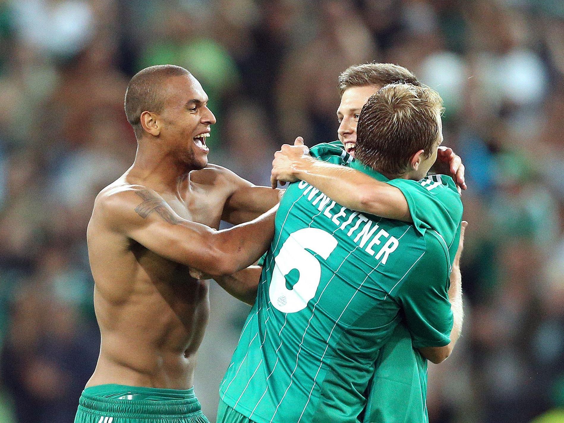 Rapid Wien steht nach dem Sieg über Vojvodina Novi Sad in der vierten Runde der Europa League.