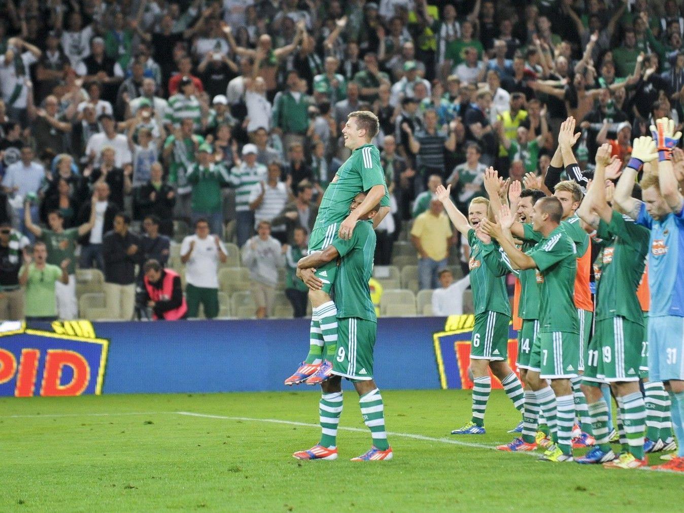 Rapid Wien trifft in der vierten Runde der Europa League auf PAOK Saloniki.