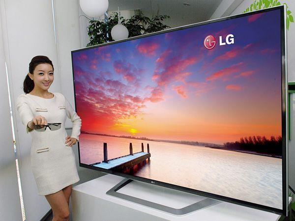 LG ''4K'': 3.840 mal 2.160 Pixel bringen wirkliches Kino-Feeling in die eigenen vier Wände