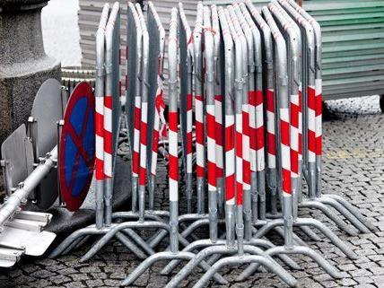 Die Colloredogasse in Währing ist am Mittwoch gesperrt