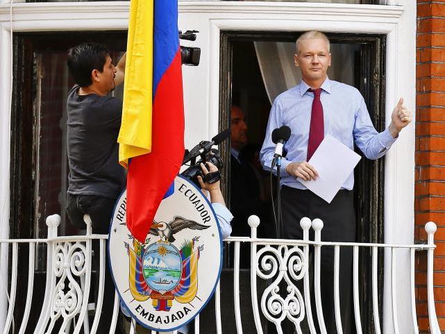 Assange sprach aus der ecuadorianischen Botschaft