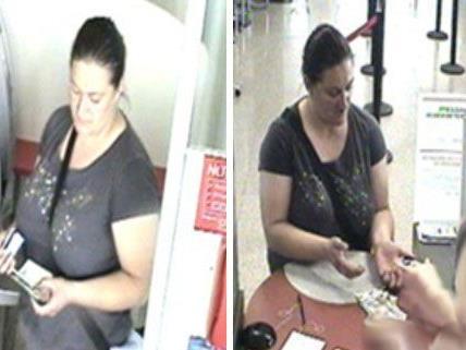 Diese Frau hat sich Geld von fremden Konten überwiesen.