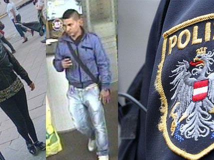 Diese beiden Personen sollen zu der Bande gehören, die Bankkunden ausspioniert hat.
