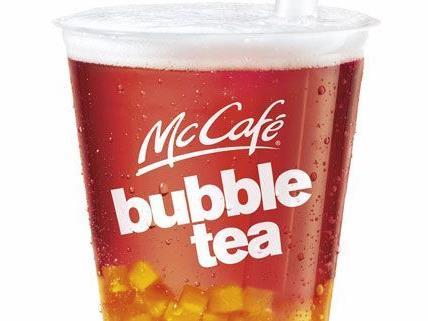 Auch bei Mc Donald's gibt es jetzt Bubble Tea - in 200 verschiedenen Kombinationen.