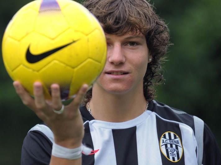 Marcel Büchel ist beim AC Siena unter Vertrag