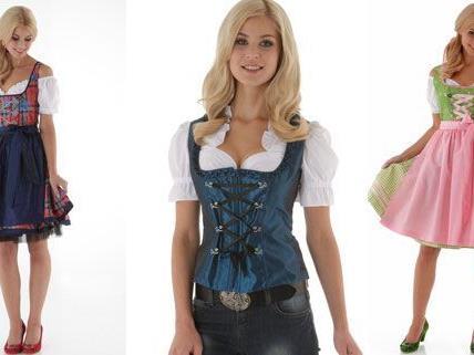 Die Trachten-Mode ist en vogue im Herbst.