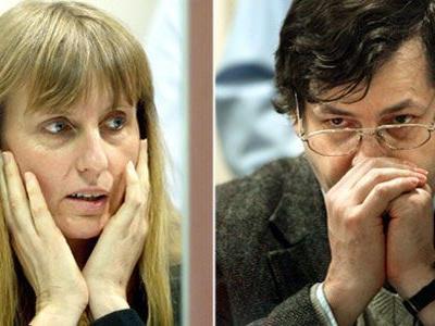 Michelle Martin, Ex-Frau des mehrfachen Mörders und Kinderschänders Marc Dutroux (v.l.)