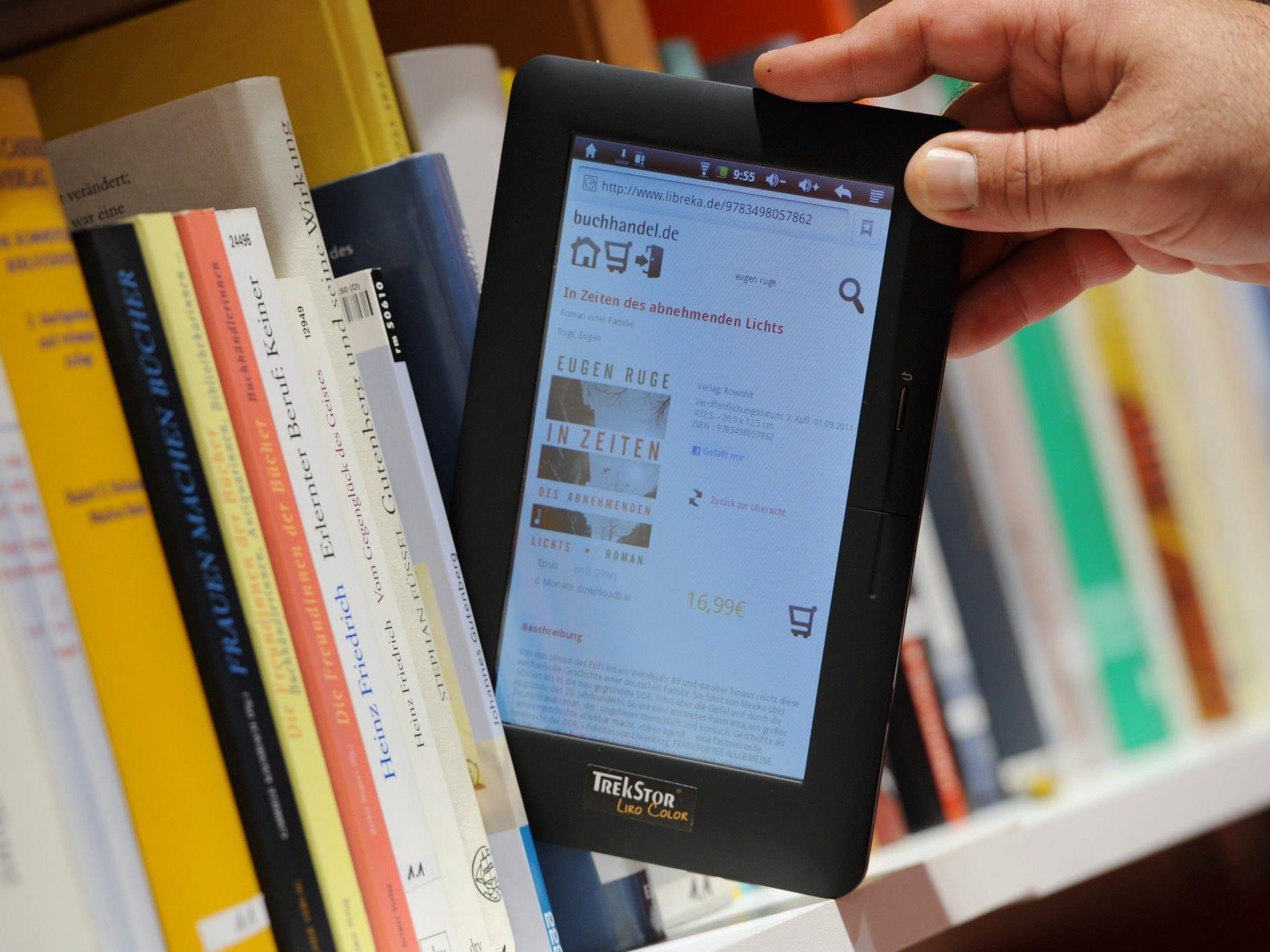 Forbes-Vorschlag hätte für Verlage den Vorteil, dass E-Books nicht mehr wahllos verliehen werden können.