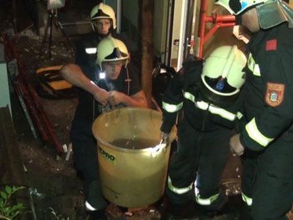 250 Feuerwehrleute waren am Mittwoch im Bezirk Neunkirchen im Einsatz.