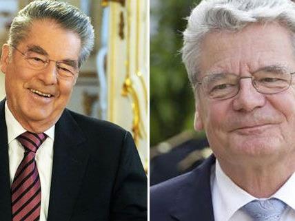 Heinz Fischer und Joachim Gauck: Treffen in Wien.