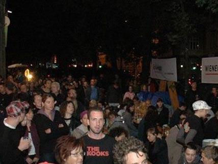 25.000 Besucher gab es beim 15. Gürtel Nightwalk am Samstag.