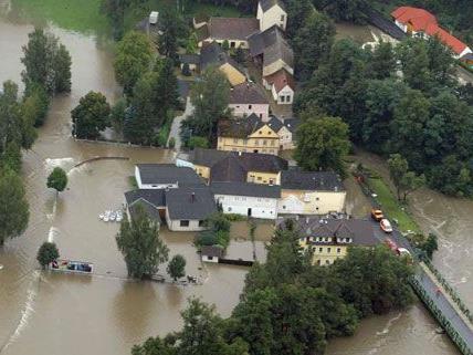 So wie in Waidhofen an der Thaya sah es nach dem Hochwasser 2002 in vielen niederösterreichischen Städten aus.