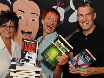 Heimische und internationale Autoren lesen bei der Kriminacht am 18. September.