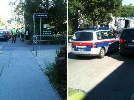 Ein Jugendlicher wurde am Dienstag von einem Auto in der Siemensstraße erfasst.