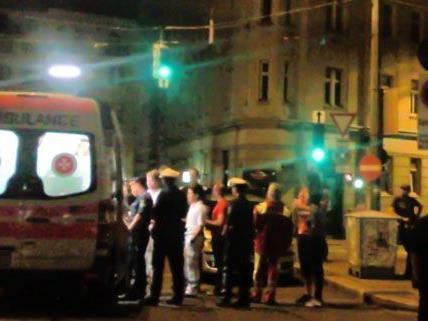 Während des Gürtel Nightwalks kam es zu mehreren Polizeieinsätzen.