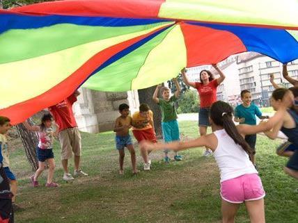 Die Wiener Parkbetreuung bietet ein breites Angebot für Kinder und Jugendliche.