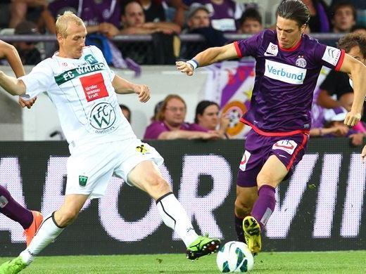 """Die Wiener Austria erzielte am Samstag einen """"Pflichtsieg"""" gegen Wacker."""