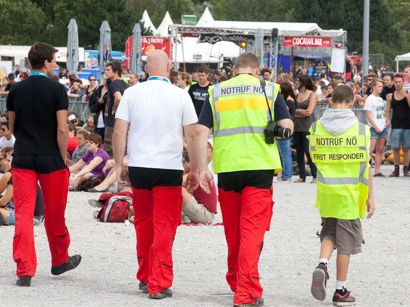 Die Einsatzkräfte stehen am Frequency Festival bereit