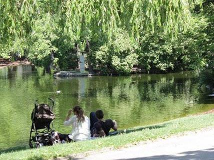 Die Seele baumeln lassen im Wiener Stadtpark.