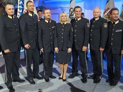Vorstellung der Landespolizeidirektoren in der Wiener Hofburg.