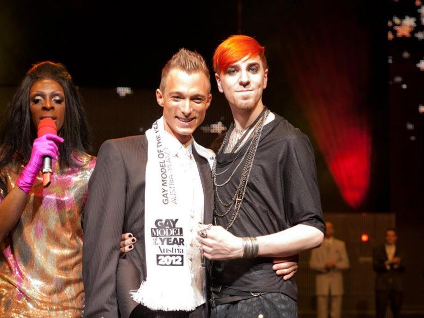 In Bregenz wurde am Mai das Gay-Model of the Year gewählt