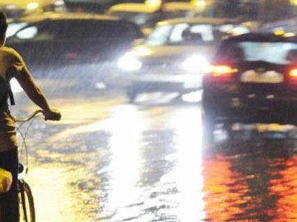 Am Donnerstag kommt eine Kaltfront mit Regen.