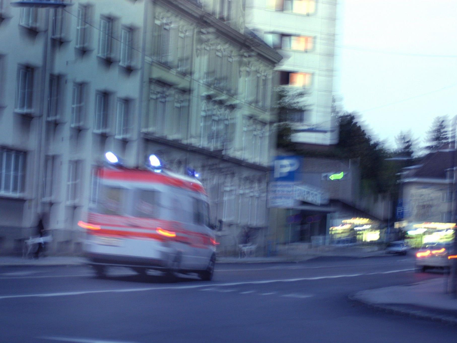 Eine 69-jährieg Frau wurde bei einem Unfall in Favoriten schwer verletzt.