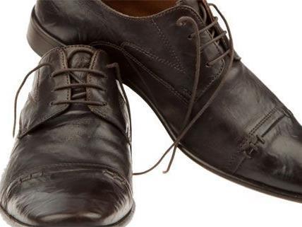 Der Mann wurde erwischt, die Designer-Schuhe blieben im Geschäft.