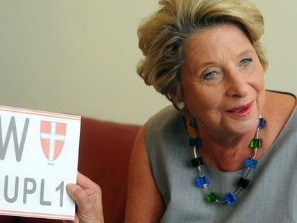 Ursula Stenzel weicht von der Parteilinie ab, sie befürwortet die Einführung von Nummerntafeln für Fahrräder.