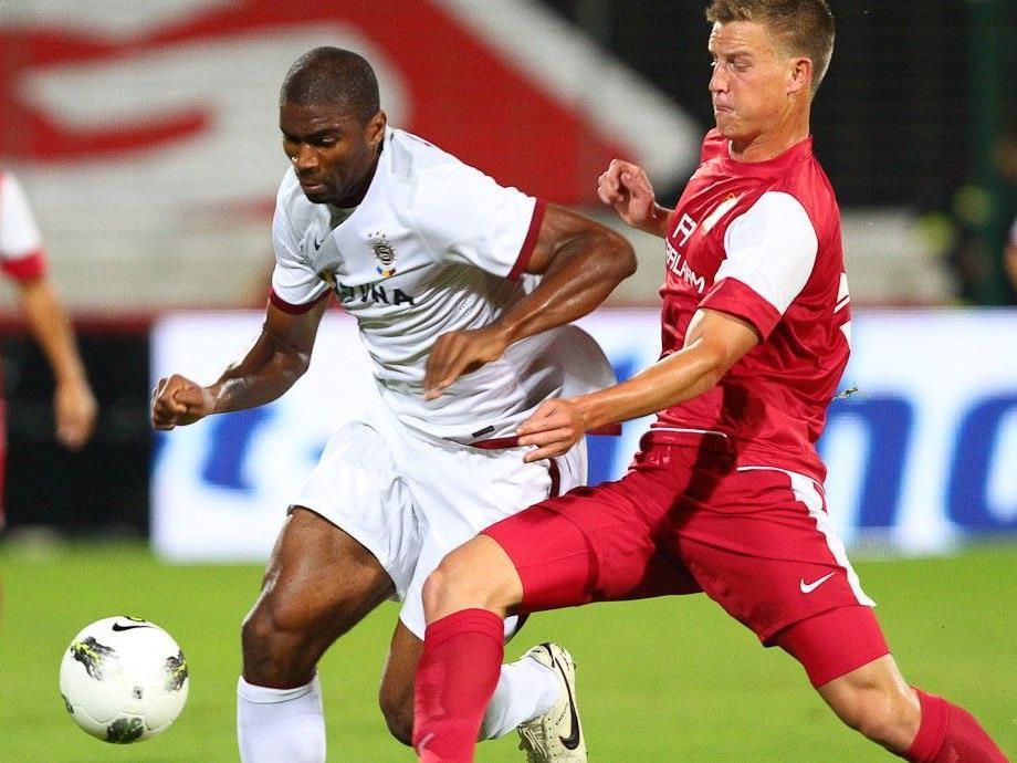 Die Admira konnte sich in der Europa League-Qualifikation nicht gegen Sparta Prag durchsetzen.