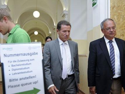 An der Uni Wien erwartet man bei der Inskription in den kommenden Tagen einen großen Ansturm.