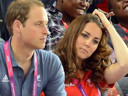 Kate und William von Paparazzi verfolgt