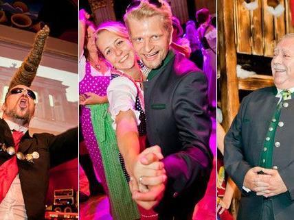 Der Trachtenpärchenball in Wien fand zum sechsten Mal statt