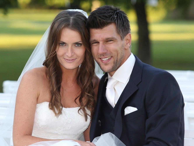 Jürgen Melzer heiratete seine Mixed-Partnerin Iveta Benesova.