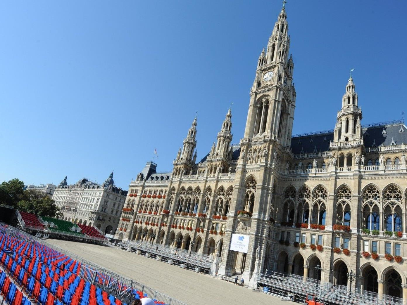 Am Donnerstag starten die Vienna Masters 2012 auf dem Wiener Rathausplatz.