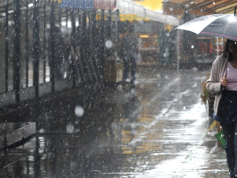 In Wien wird es in den kommenden Tagen kalt, trüb und vor allem nass.