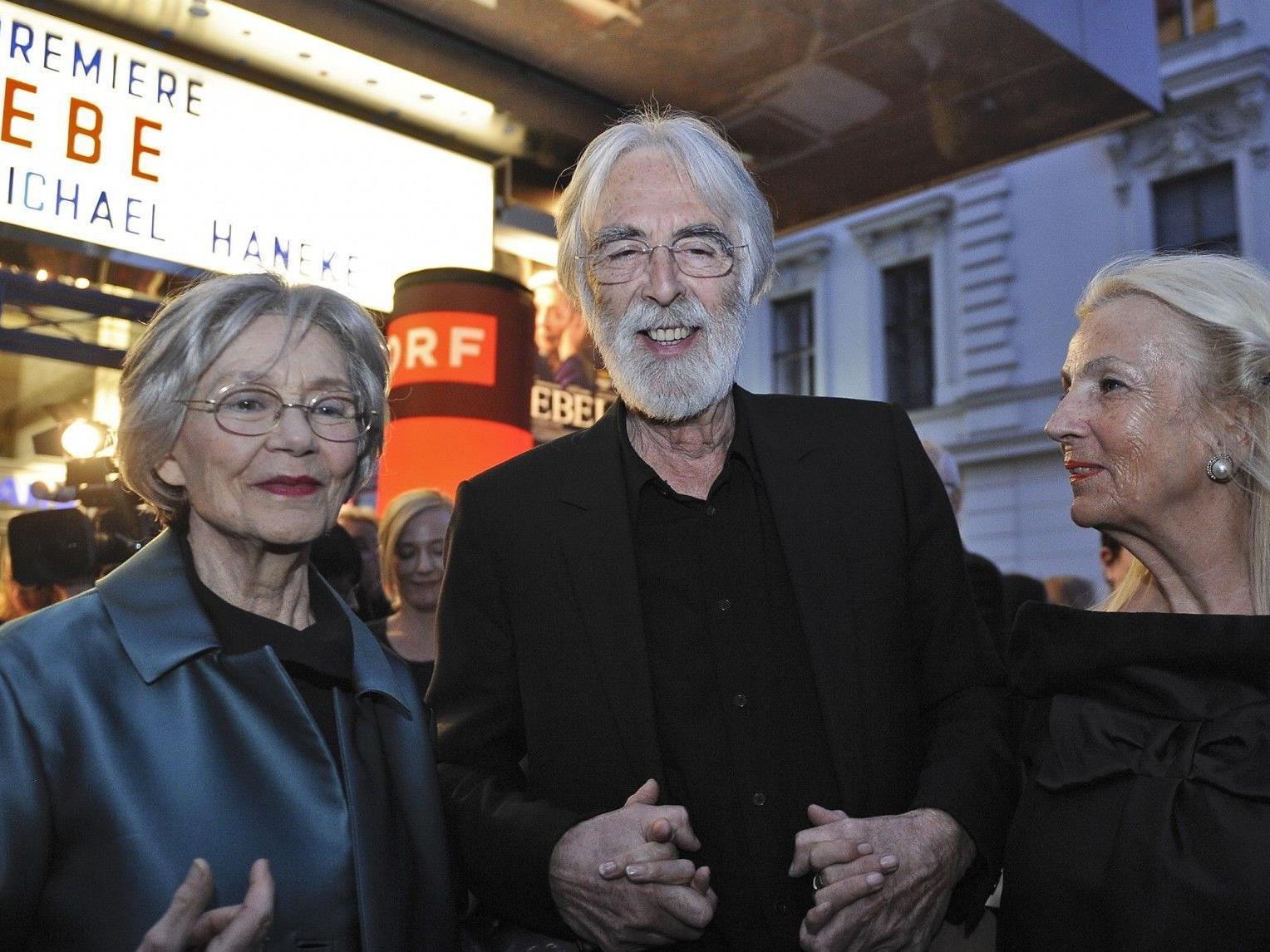 """Michael haneke feierte am Montagabend Premiere seines neuesten Filmes """"Amour""""."""