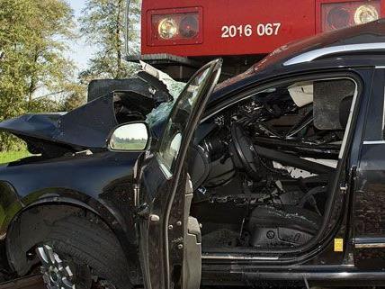 Wiener wurder bei Zusammenstoß mit Zug in Baden getötet
