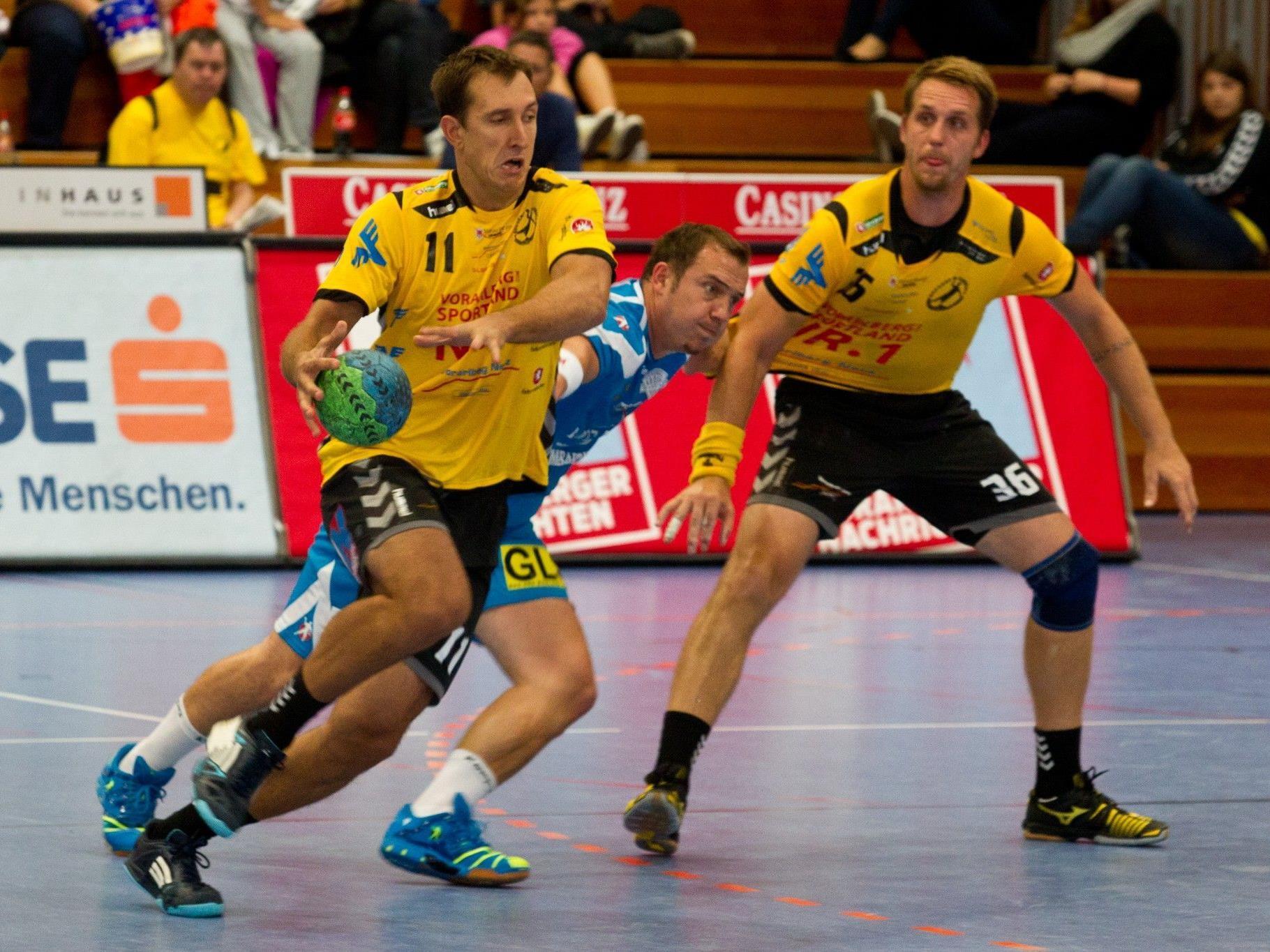 Bregenz konnte sich im ersten Spiel der Saison 2012/13 zuhause mit einem Tor Vorsprung durchsetzen.