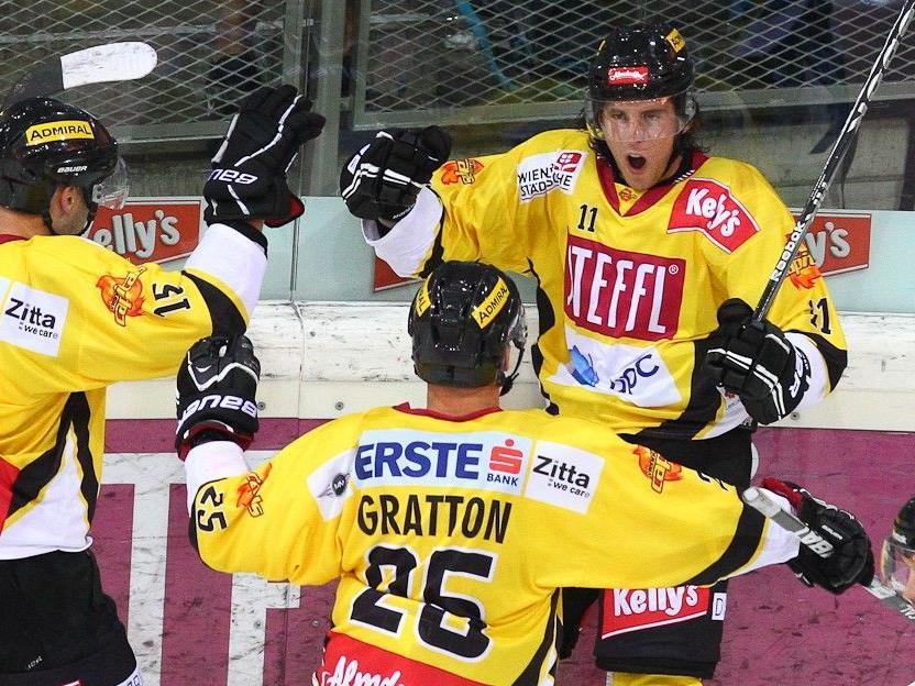 Die Vienna Capitals konnten nun schon den zweiten Sieg in der EBEL einfahren.