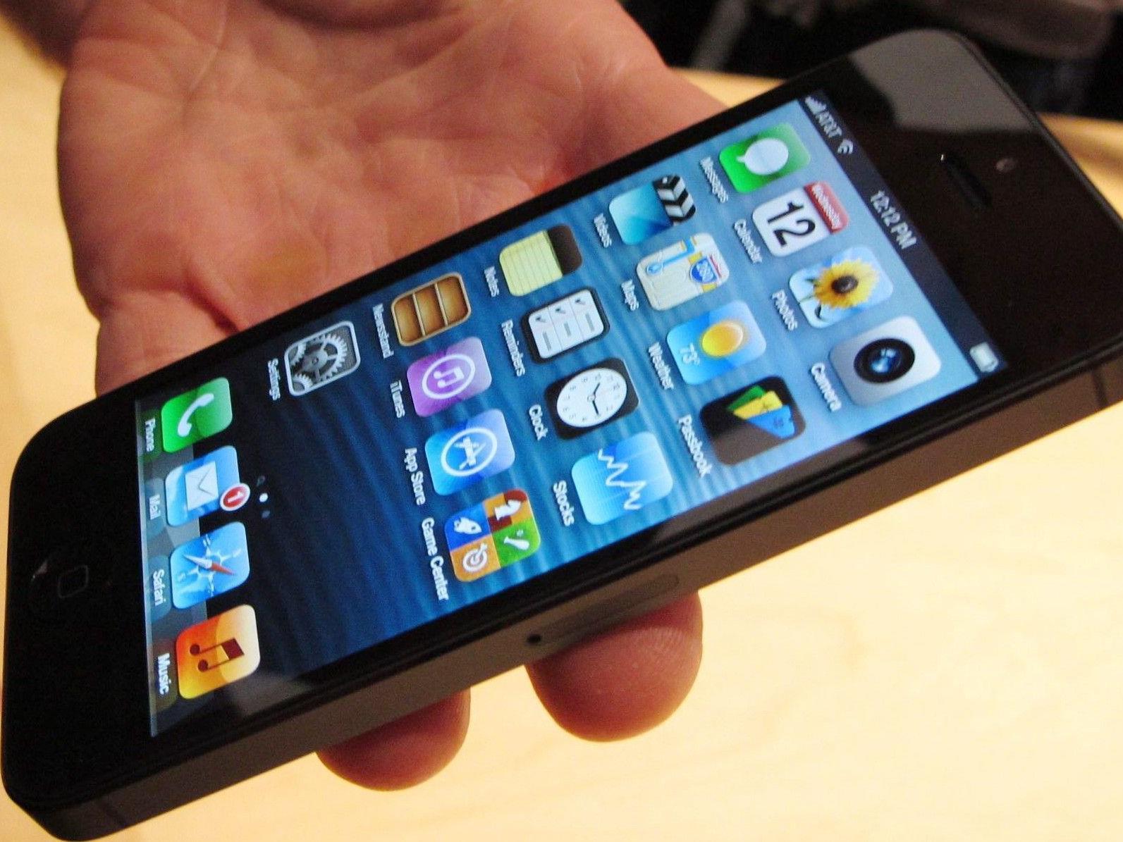 Ab dem 21. September kann man das IPhone 5 vorbestellen.