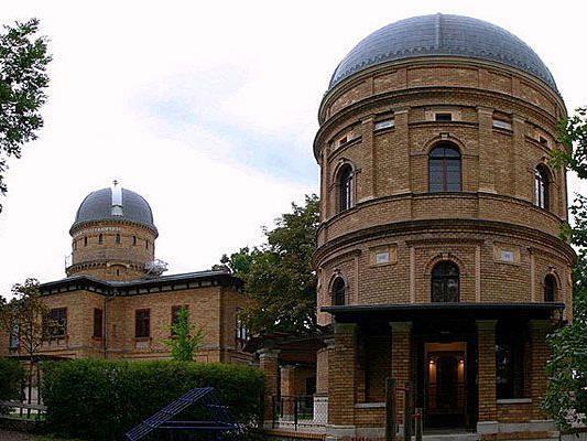 Die Kuffner Sternwarte am Wilhelminenberg in Ottakring