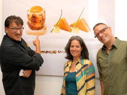 Saša Asanović und Petra Schmidt zeigen bekannte Speisen in neuen Perspektiven